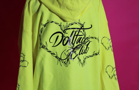 1 of 1 Neon Zip Up