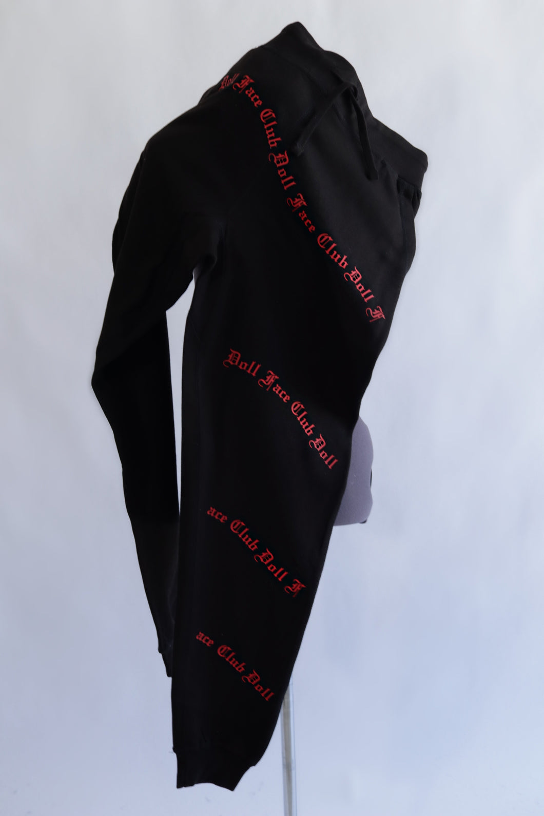 XL Black and Red Sweats