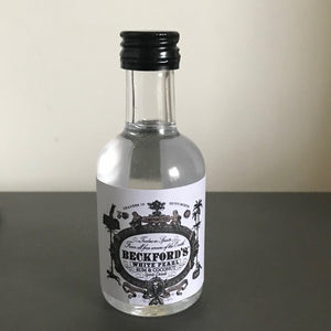 Beckford's White Pearl Rum & Coconut 5cl Miniature