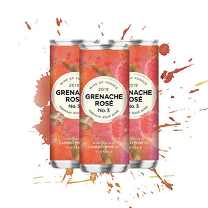 Canned Wine Grenache Rose