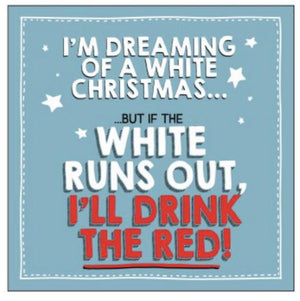 Christmas Card - Dreaming of a White Christmas