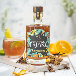 Friary Spiced Rum 10cl Miniature