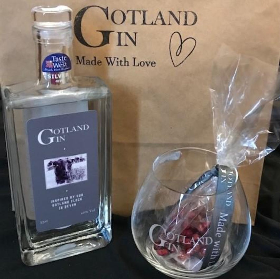 Gotland Gin Glass and 35cl