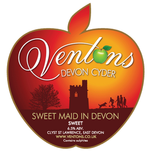 Venton's Cyder Sweet Maid in Devon