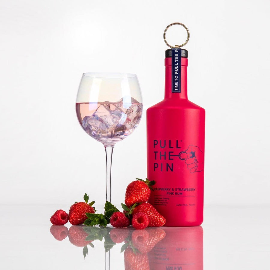 Pull the Pin Rum Raspberry & Strawberry