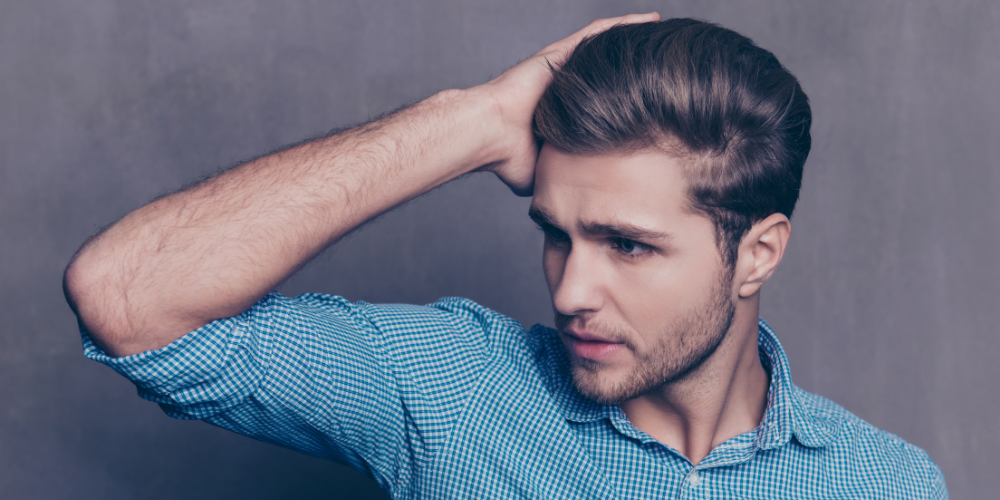 best hair products for men with thick hair