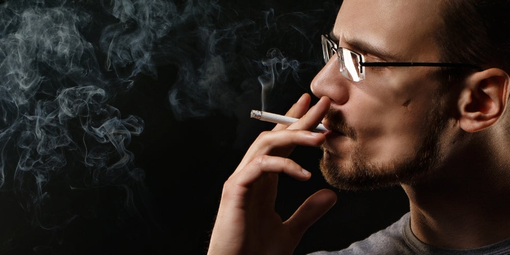smoking causes thinning hair in men