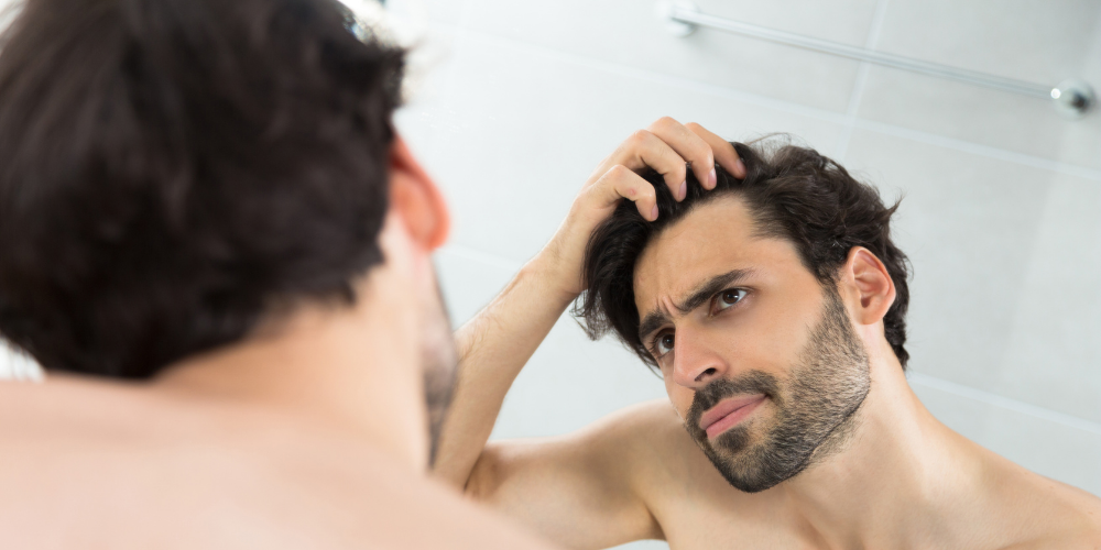 how to fix thinning hair men