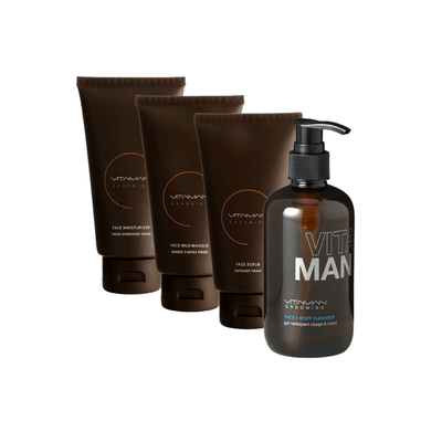 vitaman face care routine men