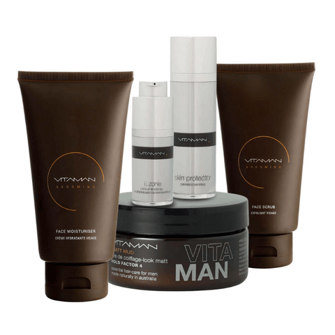 vitaman ultimate man's grooming routine