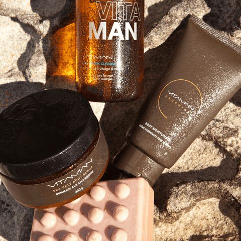 vitaman grooming routine over 30s