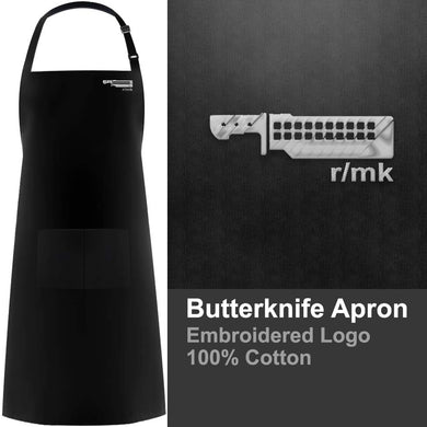 ButterKnife Embroidered Apron