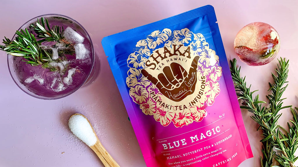 Shaka Tea Blue Magic Butterfly Pea Tea Lemonade
