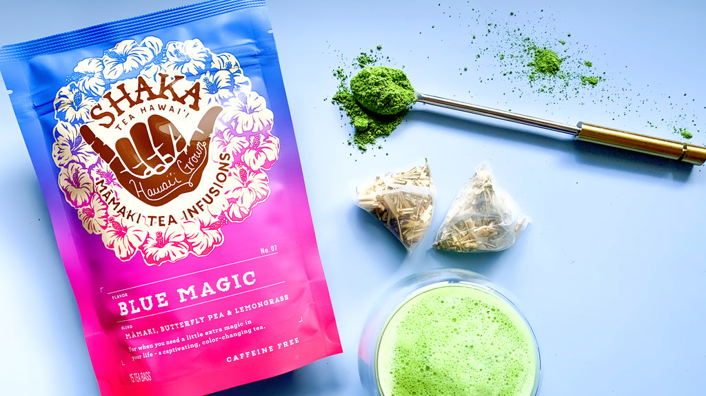 Shaka Tea Blue Magic Matcha Tea Latte