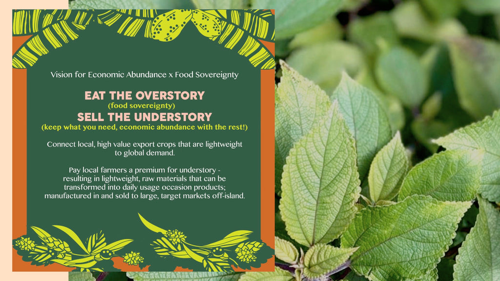 Shaka Tea Eat the Overstory, Sell the Understory