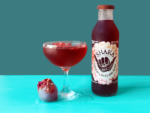 Shaka Tea Lemon Lokelani Rose