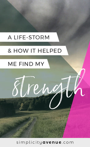 Trials come in and out of life - some like light breezes, others like tornadoes. It seems it's through these life-storms that you truly find your strength. CLICK to the read the full article.