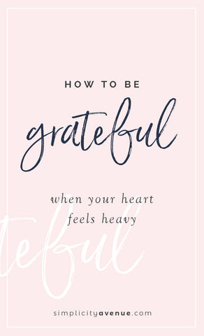 How to be grateful and find goodness when you feel surrounded by nothing but storms. (It's possible... and so very worth it.)