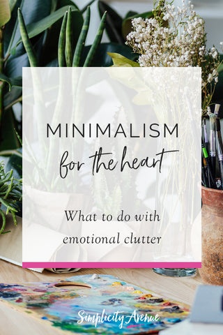 Minimalism isn't just about stuff. Here's how minimalism is helping me clear emotional clutter and find peace. #minimalism #happiness #intentionalliving