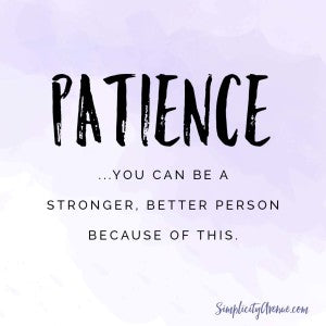 Patience isn't about just clenching your teeth and making it through the day. Here's what I'm learning while I heal, while I endure, and while I wait.