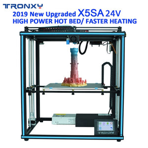 Upgraded TRONXY 3D Printer X5SA-400/X5SA PRO/X5SA 24V  DIY Touch Screen Auto Level Large Print Size 3d Machine ABS Filament