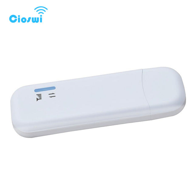 Unlocked 4G usb modem 3g wifi lte dongle support sim card 2100MHz/1800MHz/2600MHz/800MHz Cat 5 modem wi-fi 150mbps access point