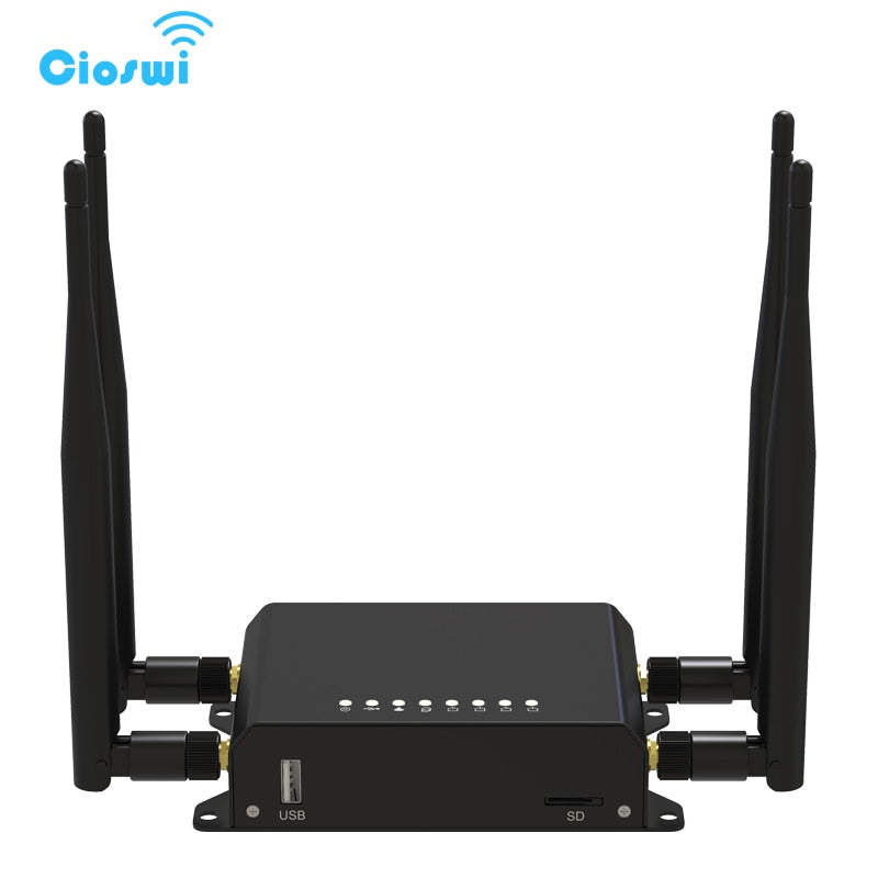 Unlock 300Mbps 4G LTE CPE Wifi Router LTE FDD TDD Wireless Router Strong Signal MT7620 OpenWrt With USB Port SIM Card Slot WE826