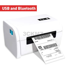 Load image into Gallery viewer, Thermal bar code label bluetooth printer Shipping sticker thermal printer machine printer 4 inch 110mm 100mm use for Express