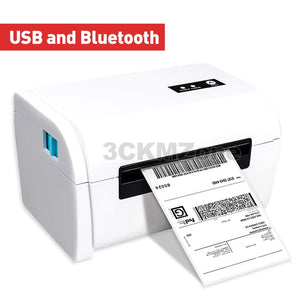 Thermal bar code label bluetooth printer Shipping sticker thermal printer machine printer 4 inch 110mm 100mm use for Express