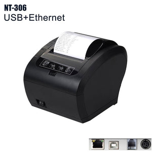 NT-806 80mm Thermal Receipt Printer Automatic cutter Restaurant Kitchen POS Printer USB+Serial+Ethernet Wifi Bluetooth NETUM