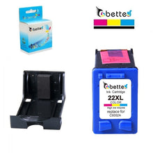 Load image into Gallery viewer, Bette Ink Cartridge Replacement for HP 21 22 21XL 22XL DeskJet 3915 3918 3920 3930 3938 3940 D1500 D2300 F2100 F2280 F4100 F4180