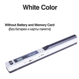 Digital Portable iScan Mini Scanner 900DPI LCD Display JPG/PDF Format Document Image Iscan Handheld Scanner A4 Book Scanner