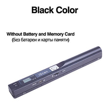 Load image into Gallery viewer, Digital Portable iScan Mini Scanner 900DPI LCD Display JPG/PDF Format Document Image Iscan Handheld Scanner A4 Book Scanner