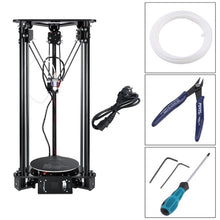 Load image into Gallery viewer, DE New T1 3D Printer High Speed Lcd Screen DIY Kit For Kossel Linear Delta Large Printing Size Easy To Assemble EU Plug