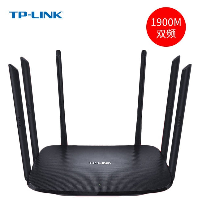 TP-LINK Wdr7620 1900M Dual-frequency Dual-gigabit Wireless Router High-speed Wifi Router 2.4G 5G Router