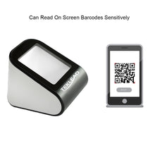 Load image into Gallery viewer, TEKLEAD Automatic 2D Barcode Scanner Hands-Free USB QR Barcode Reader for Mobile Payment for Store, Supermarket,Restaurant