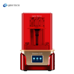 QIDI TECH SLA /LCD 3D Printer Shadow 5.5 S , UV LCD Resin Printer with Dual z axis Liner Rail, Build Size 115*65*150mm
