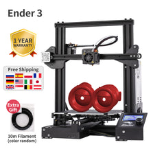 Load image into Gallery viewer, Ender-3 3D printer DIY Kit Large print Size I3 mini Ender 3/Ender-3X printer 3D Creality 3D printer Continuation Print Power