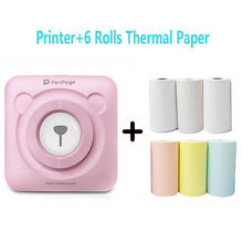 Load image into Gallery viewer, PeriPage Portable Thermal Bluetooth Printer Mini Photo Pictures Printer For Mobile Android iOS Phone 58mm Pocket Machine