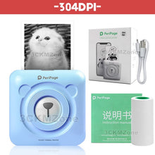 Load image into Gallery viewer, Portable Bluetooth Pocket Photo Printer 58mm 304dpi Mini Wireless Pocket Thermal Printing USB Impresoras Fotos