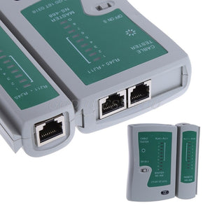 Professional Networking Testing RJ45 RJ11 CAT5 UTP LAN Cable Network Tester Tool