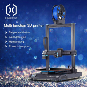 2019 Newest Artillery 3d printer Sidewinder X1 Ultra-quiet Driver TFT Touch Screen Dual Z axis Resume Printing 3d printer kit