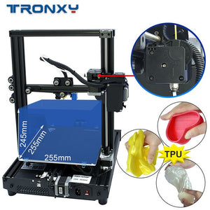2020 Newest Big sale Tronxy XY-2 PRO completed 3D Printer FDM Printing Full Metal High Precision Printing with hotbed Size