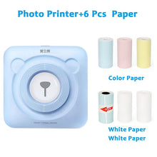 Load image into Gallery viewer, PeriPage Mini Portable Thermal Printer Photo Pocket Photo Printer 58 mm Printing Wireless Bluetooth Android IOS Printers