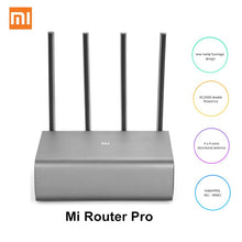 Load image into Gallery viewer, Xiaomi Mi Router Pro R3P 2600Mbps Smart Wireless Router 4 Antenna Dual-band 2.4GHz + 5.0GHz WiFi Network Device