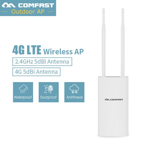 Comfast CF-E5 High Speed Outdoor 2.4G LTE Wireless AP Wifi Router plug and play Netcard Portable Wireless Router WiFi Router