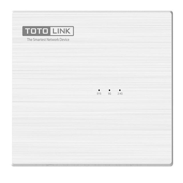 TOTOLINK Wireless Router 1200Mbps 2.4G 5G 4*100Mbps Lan Ports Internal Antenna Dual Band WiFi Repeater A830R