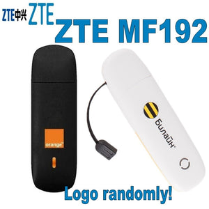 Original Unlock 7.2Mbps ZTE MF192 HSDPA USB Modem And ZTE 3G USB Modem