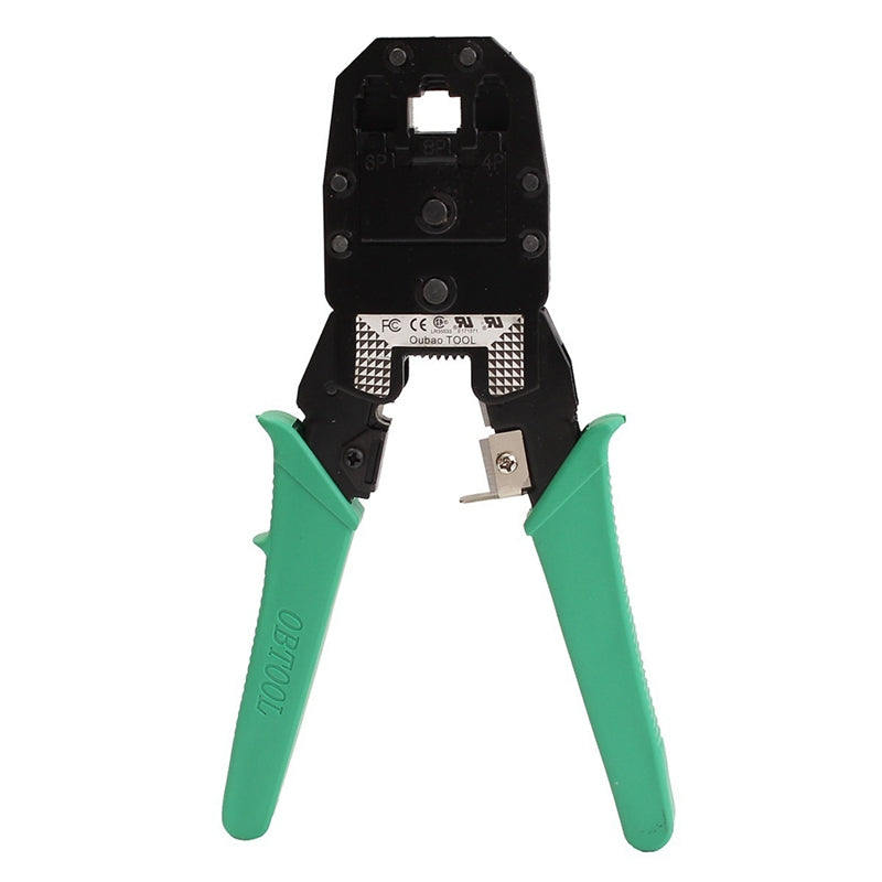 for RJ45 RJ11 Network Crimping Tool Ethernet LAN Crimper Cable Cutter Plier Cat5 Stripper RJ12