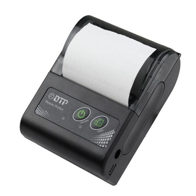 Milestone Bluetooth thermal Printer Receipt bill 58MM Mini Portable pocket Windows Android IOS MHT-P10